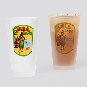 Hawaii Beer Label 2 Drinking Glass