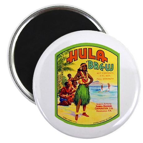 "Hawaii Beer Label 2 2.25"" Magnet (100 pack)"