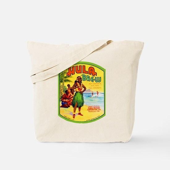 Hawaii Beer Label 2 Tote Bag