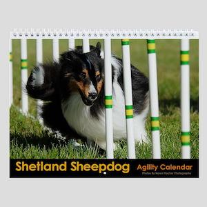 Sheltie Weave Poles Agility Calendar