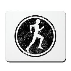 Male Runner Mousepad