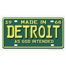Made in Detroit Poster