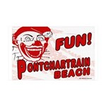 Fun Pontchartrain Beach38.5 x 24.5 Wall Peel