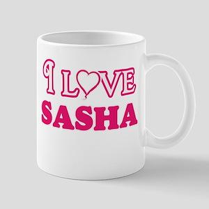 I Love Sasha Mugs