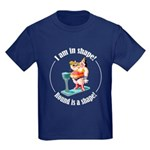 I am in shape! Kids Dark T-Shirt