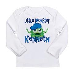 Little Monster Kenneth Long Sleeve Infant T-Shirt
