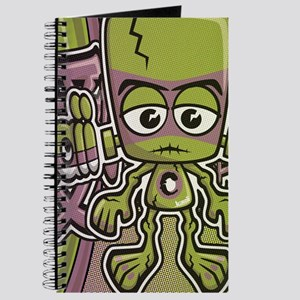 Creature Mascot Tag Journal