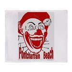 Pontchartrain Beach Throw Blanket