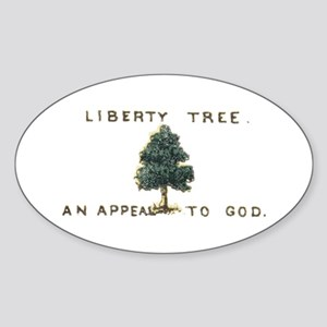 Liberty Tree Sticker (Oval)