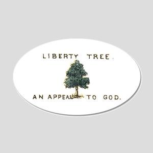 Liberty Tree 22x14 Oval Wall Peel