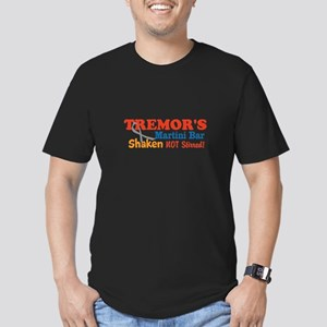Parkinson's Tremor's Bar Men's Fitted T-Shirt (dar