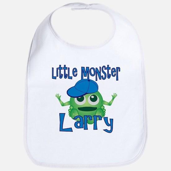 Little Monster Larry Bib