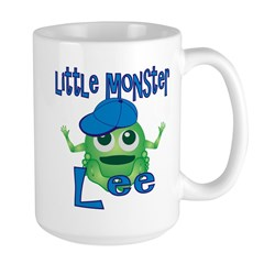 Little Monster Lee Large Mug