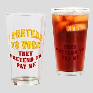 Pretend Drinking Glass