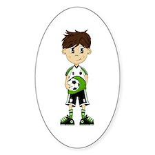 Cute Soccer Boy Sticker
