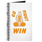 Orange WIN Ribbon Journal