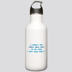 Can't Spell Secks Stainless Water Bottle 1.0L