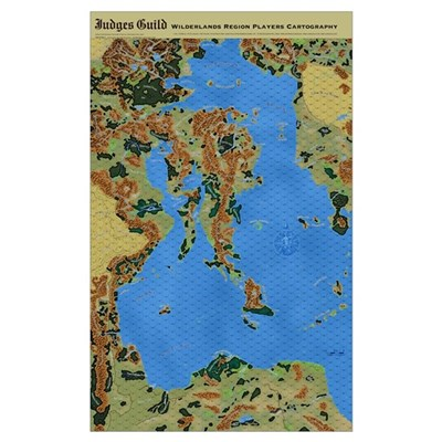 Wilderlands giant 23x35 map with 58 hex grid poster gumiabroncs Gallery