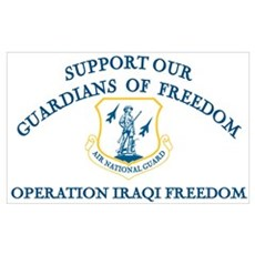 Support Air National Guard-OIF Poster