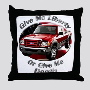 Ford Ranger Throw Pillow