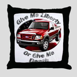 Ford Ranger Throw Pillow