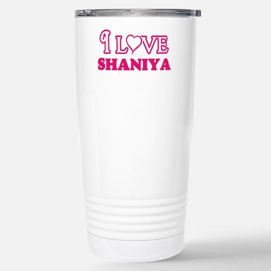I Love Shaniya Travel Mug