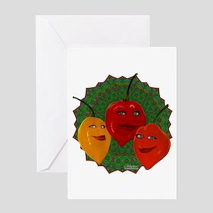 Tres Habaneras Greeting Card
