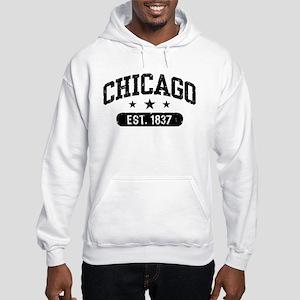 Chicago Est.1837 Hooded Sweatshirt