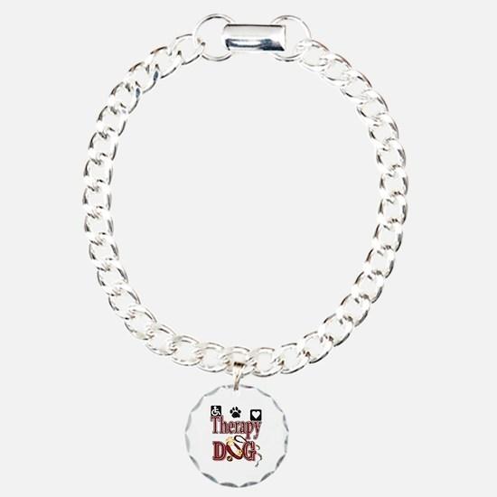 Therapy Dog Charm Bracelet, One Charm