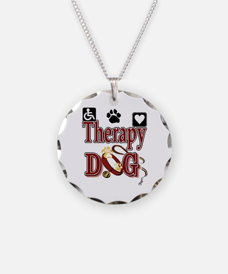 Therapy Dog Necklace