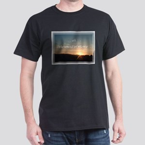 Sound of Silence Black T-Shirt