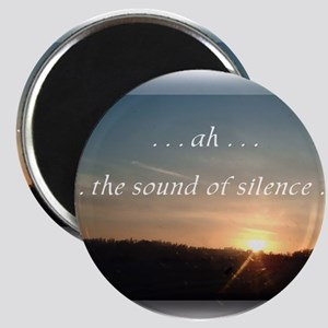 Sound of Silence Magnet
