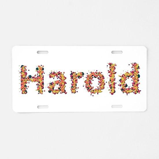 Harold Fiesta Aluminum License Plate