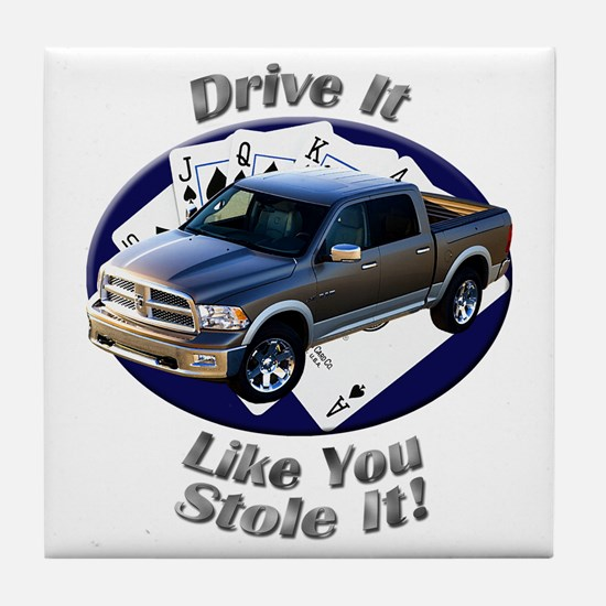 Dodge Ram Tile Coaster