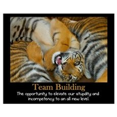 Team Building Poster