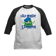 Little Monster Stephen Kids Baseball Jersey