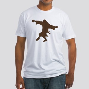 Dancing Dude Fitted T-Shirt