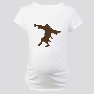 Dancing Dude Maternity T-Shirt