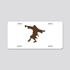 Dancing Dude Aluminum License Plate