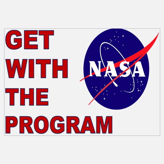 NASA: Get With The Program