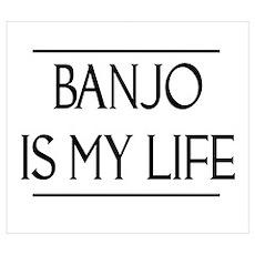 Banjo Gift Poster