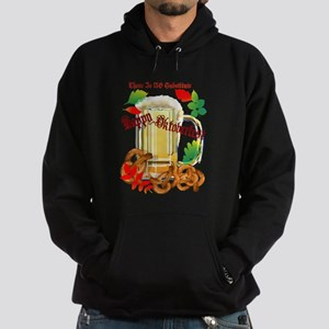 Beer and Pretzels-There is NO Hoodie (dark)