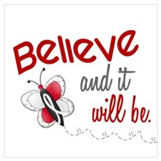 Believe 1 Butterfly 2 PEARL/WHITE ri Poster