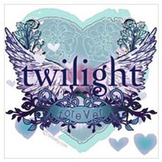 Twilight Forever by Twibaby.com Poster