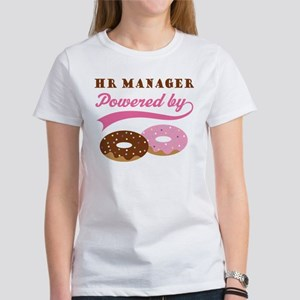 HR Manager Gift Doughnuts Women's T-Shirt