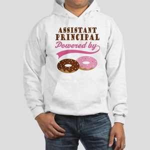 Assistant Principal Gift Doughnuts Hooded Sweatshi