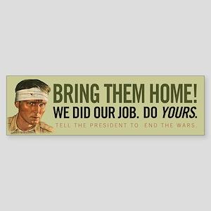 Bring Them Home Sticker (Bumper)