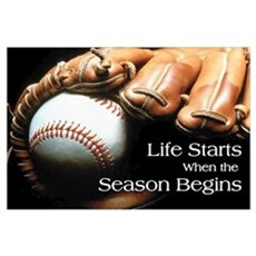 Life Starts when the Season Begins Pri Poster