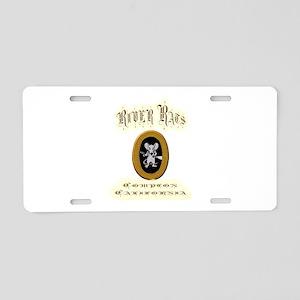 River Rats Compton Aluminum License Plate