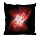 Fractal Throw Pillow by Stacy Reed